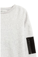 Sweatshirt - Light grey marl -  | H&M 3