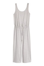Yoga jumpsuit - Light grey marl - Ladies | H&M IE 2
