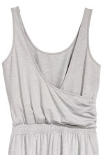 Yoga jumpsuit - Light grey marl - Ladies | H&M 3
