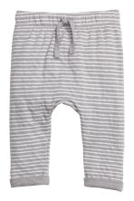 Jersey trousers - Grey -  | H&M 1