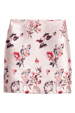 Gonna a motivi jacquard - Rosa cipria - DONNA | H&M IT 2