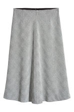 Bell-shaped skirt - Grey - Ladies | H&M 2