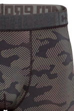 Sports boxer shorts - Green/Patterned - Men | H&M 3