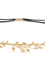 Metal hairband - Gold-coloured - Ladies | H&M 2