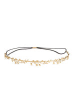 Metal hairband - Gold-coloured - Ladies | H&M 1