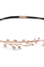 Metal hairband - Rose gold-coloured - Ladies | H&M CN 2