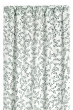Pack de 2 cortinas estampadas - Blanco - HOME | H&M ES 2