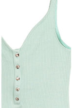 Ribbed body - Green - Ladies | H&M 3