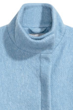 Wool-blend coat - Light blue - Ladies | H&M CN 3