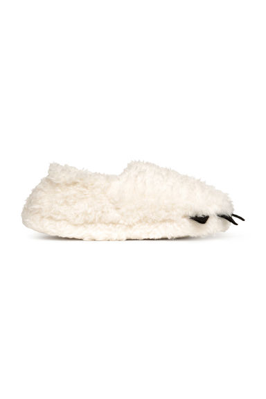 Soft slippers - Natural white - Home All | H&M GB