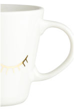 Tazza in porcellana con motivo - Dorato - HOME | H&M IT 2