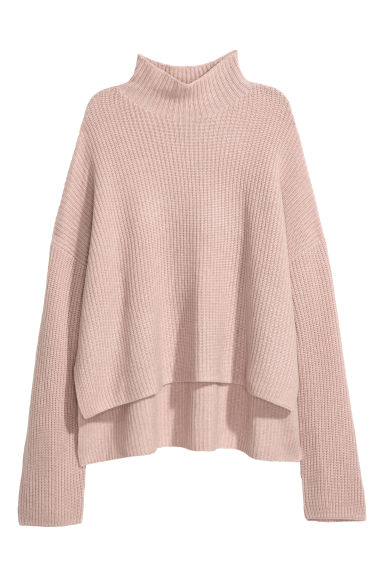 Cashmere jumper - Powder pink - Ladies | H&M CN