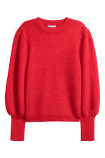 Mohair-blend jumper - Red - Ladies | H&M 2