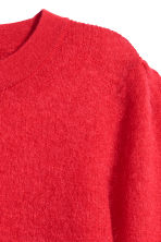 Mohair-blend jumper - Red - Ladies | H&M 3
