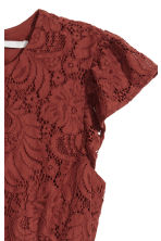 Lace dress - Rust - Ladies | H&M CN 2