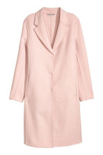 Wool-blend coat - Powder pink - Ladies | H&M CN 2