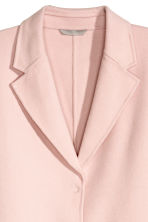 Wool-blend coat - Powder pink - Ladies | H&M CN 3