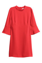 Robe courte - Rouge - FEMME | H&M CH 2
