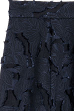Jacquard-patterned skirt - Dark blue -  | H&M CN 3