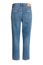 Boyfriend Low Ripped Jeans - Denimblauw - DAMES | H&M NL 3