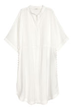 Kaftan dress - White - Ladies | H&M 2