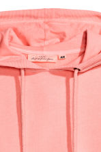 Cotton hooded top - Neon pink - Ladies | H&M 3