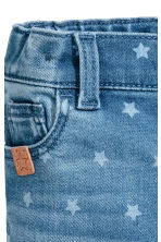 Star print jeans - Denim blue/Star -  | H&M CA 3