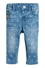 Star print jeans - Denim blue/Star -  | H&M CA 1