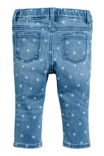 Star print jeans - Denim blue/Star -  | H&M CA 2