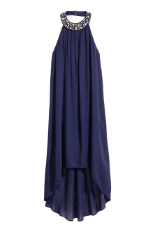 Chiffon halterneck dress