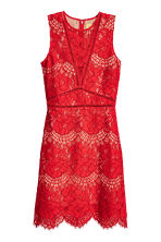 Lace dress - Red - Ladies | H&M 2