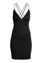 Fitted dress - Black - Ladies | H&M CN 2