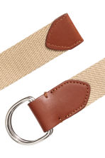 Fabric belt - Beige - Men | H&M 2