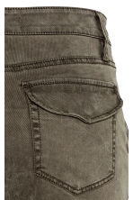 Lyocell-blend cargo trousers - Dark Khaki - Ladies | H&M 4