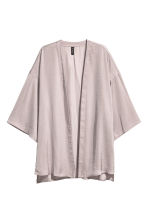 Satin cardigan - Mole - Ladies | H&M 2