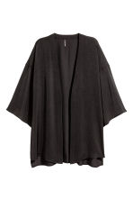 Satin cardigan - Black - Ladies | H&M 2