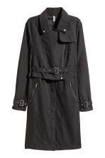Trenchcoat - Zwart - DAMES | H&M BE 2