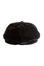Velour Cap - Black - Kids | H&M CA 2
