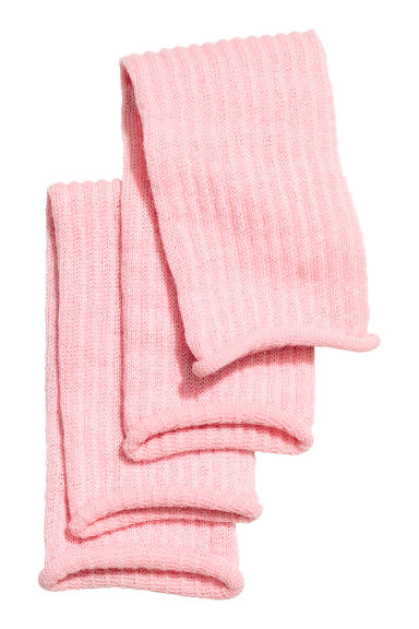 Glitterende beenwarmers - Roze -  | H&M NL 1