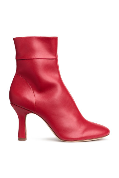 Ankle boots - Red - Ladies | H&M CN 1