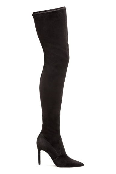 Thigh boots - Black - Ladies | H&M GB 1