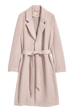 Felted Coat - Light taupe - Ladies | H&M CA 1