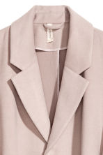 Felted Coat - Light taupe - Ladies | H&M CA 2