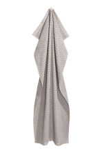 Jacquard-patterned bath towel - Light grey - Home All | H&M CN 2