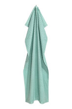 Jacquard-patterned bath towel - Turquoise - Home All | H&M CA 2
