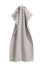 2-pack guest towels - Light grey - Home All | H&M CN 2