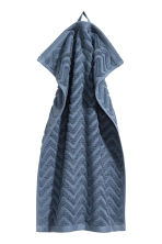 2-pack guest towels - Pigeon blue - Home All | H&M CN 2