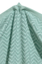 Jacquard-patterned towel - Turquoise - Home All | H&M CA 2