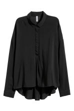 Wide shirt - Black - Ladies | H&M CN 2