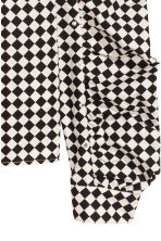 Blouse with studs - White/Black checked - Ladies | H&M IE 3